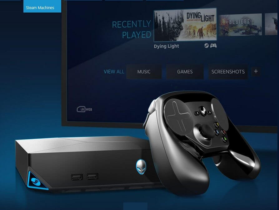 SteamOS na Alienware Steam Machine