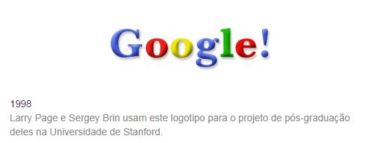1 Google 1998 logo