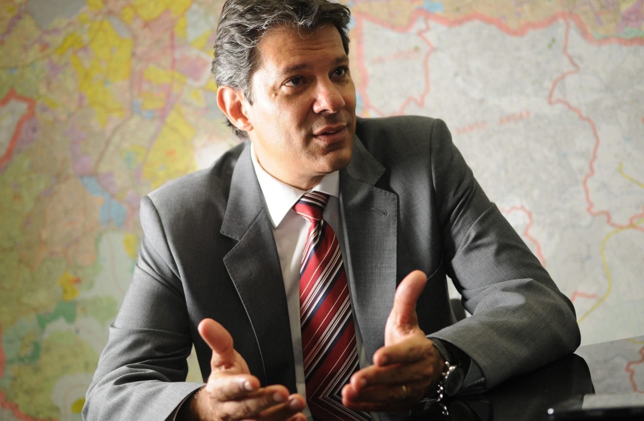 140423 hadadd - Uber deve ser regulamentado em São Paulo