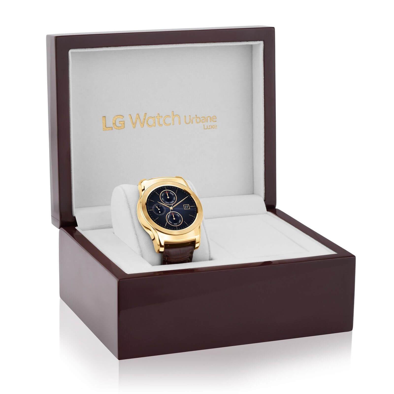 lg watch urbane luxe case - Conheça a nova safra de relógios inteligentes de 2015