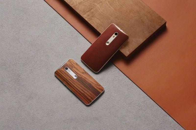 moto x style wood leather backs - Moto X Style tem preço revelado para o Brasil