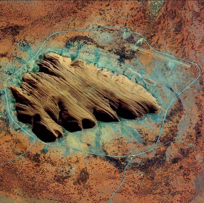screenshot 10 - 17 imagens hipnotizantes da vista aérea da terra