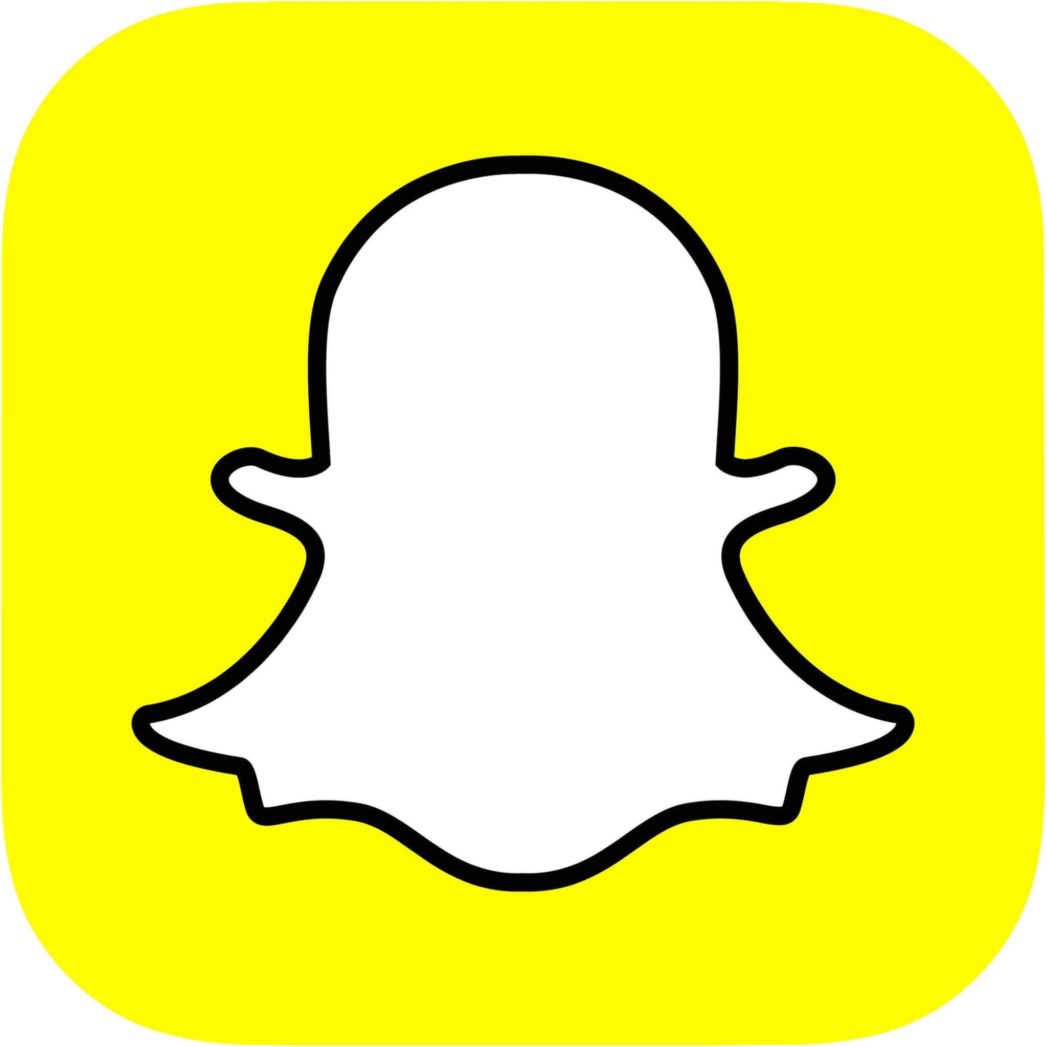 snapchat logo - Lentes: uma nova maneira de usar o Snapchat