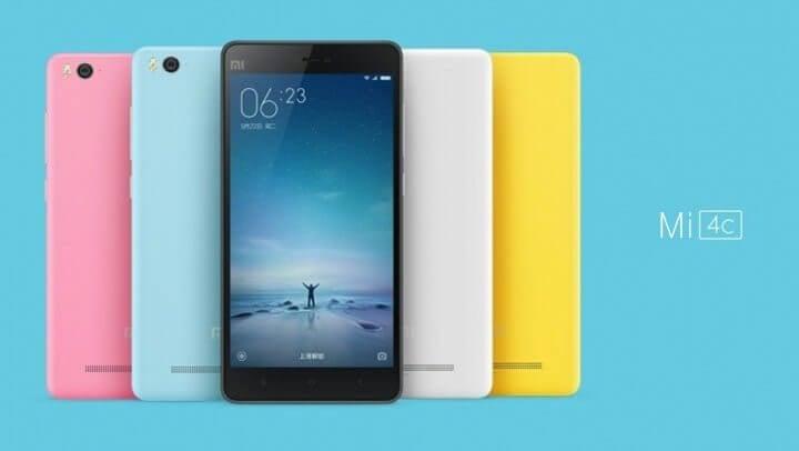 xiaomi mi 4c - Conheça o Mi 4c, novo smartphone topo de linha da Xiaomi