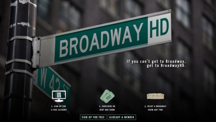 Broadwayhd streaming de peças de teatro