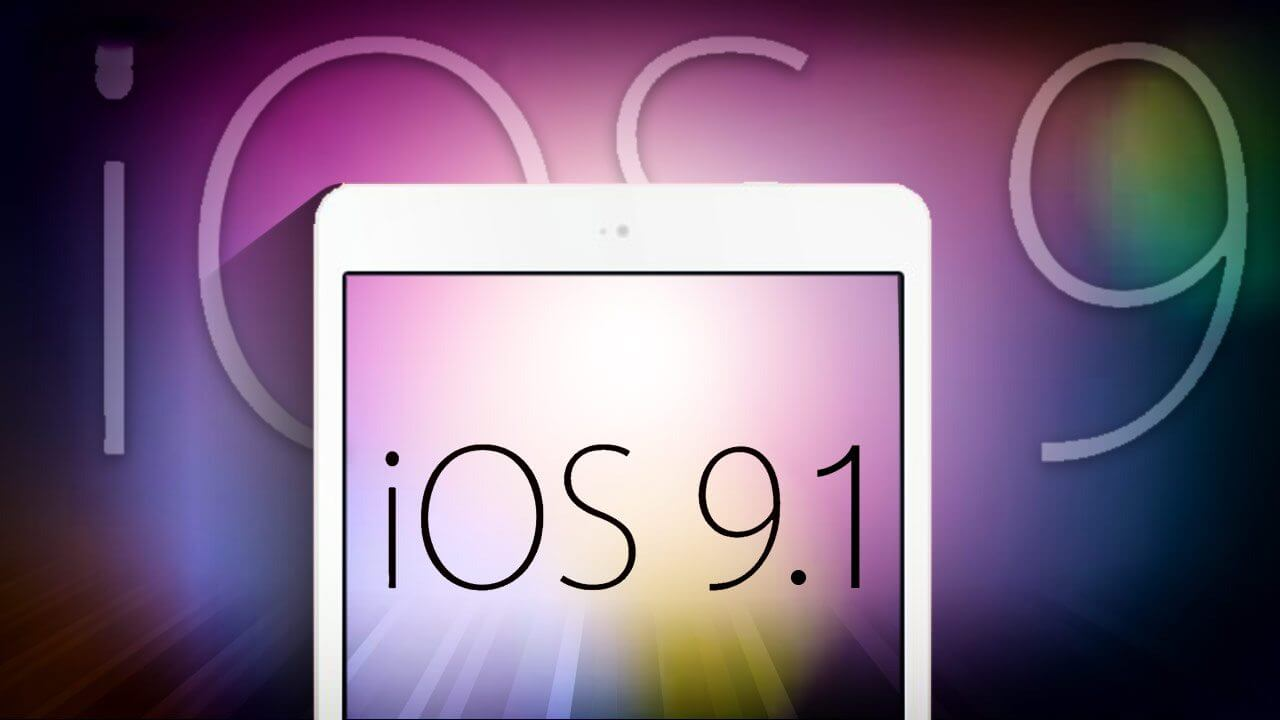 smt ios 91 - Surpresa! Apple acaba de lançar iOS 9.1