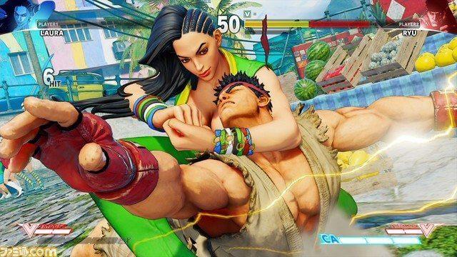 street fighter v laura - Adeus Blanka? Laura é a nova lutadora brasileira em Street Figther V