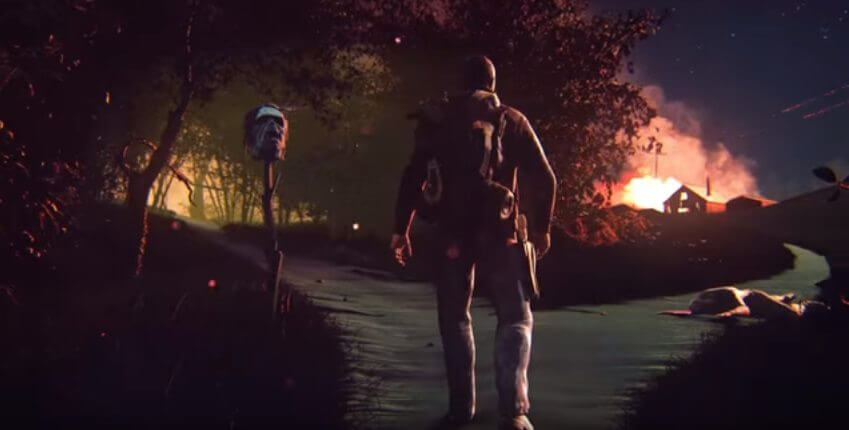 road to survival - Fork in the Road: um conto de The Walking Dead