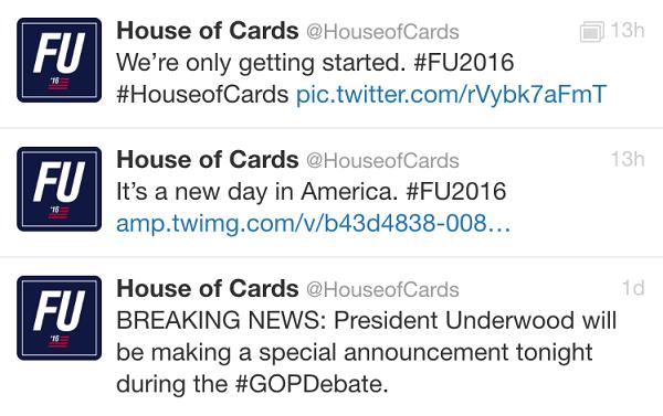 sem ttulo - House of Cards: estréia da 4ª temporada