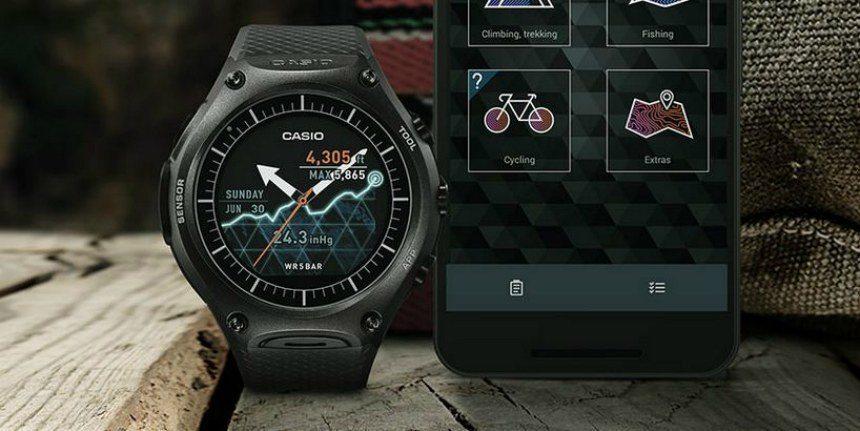 casio wsd f10 2 - CES 2016: Casio lança Smartwatch para atividades ao ar livre
