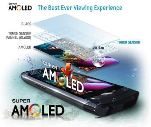 super amoled technical details - Os melhores da MWC 2016: Galaxy S7 Edge x LG G5 x Xperia X x Lumia 950XL x HP Elite X3