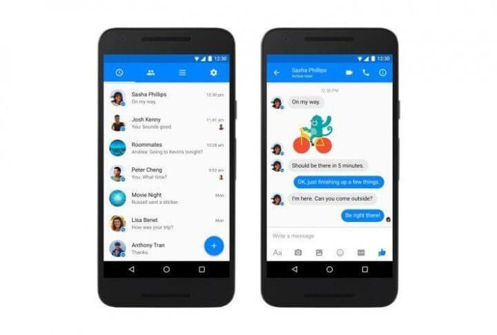 facebook messenger android 720x486 - Messenger - Facebook atualiza app para Android!