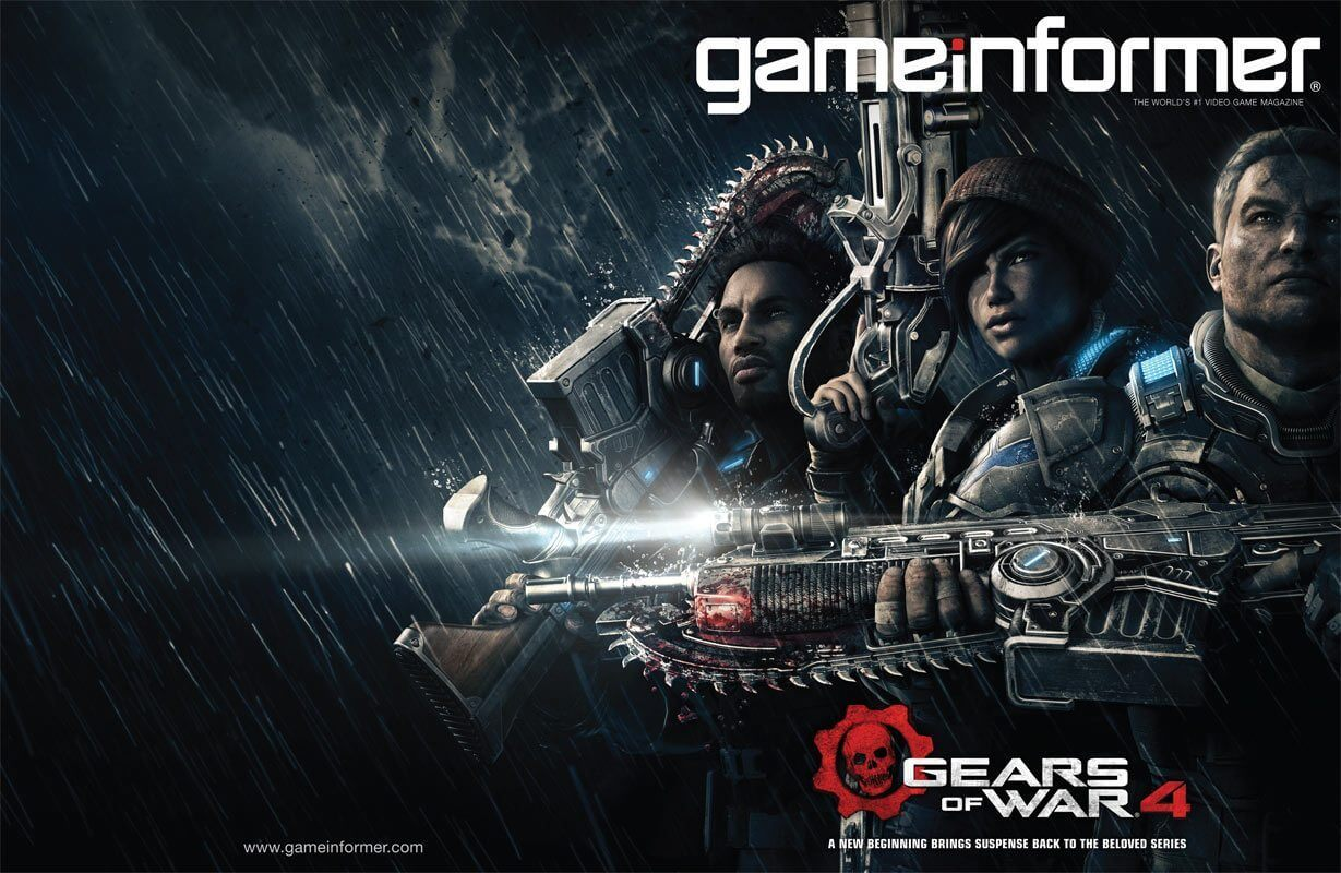 gears of wars 4 cover2 - Gears of War 4:  Protagonistas e detalhes revelados