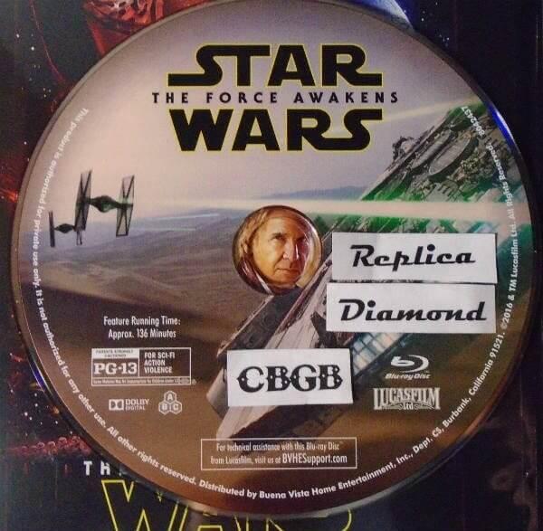Disco de star wars episódio vii vazado