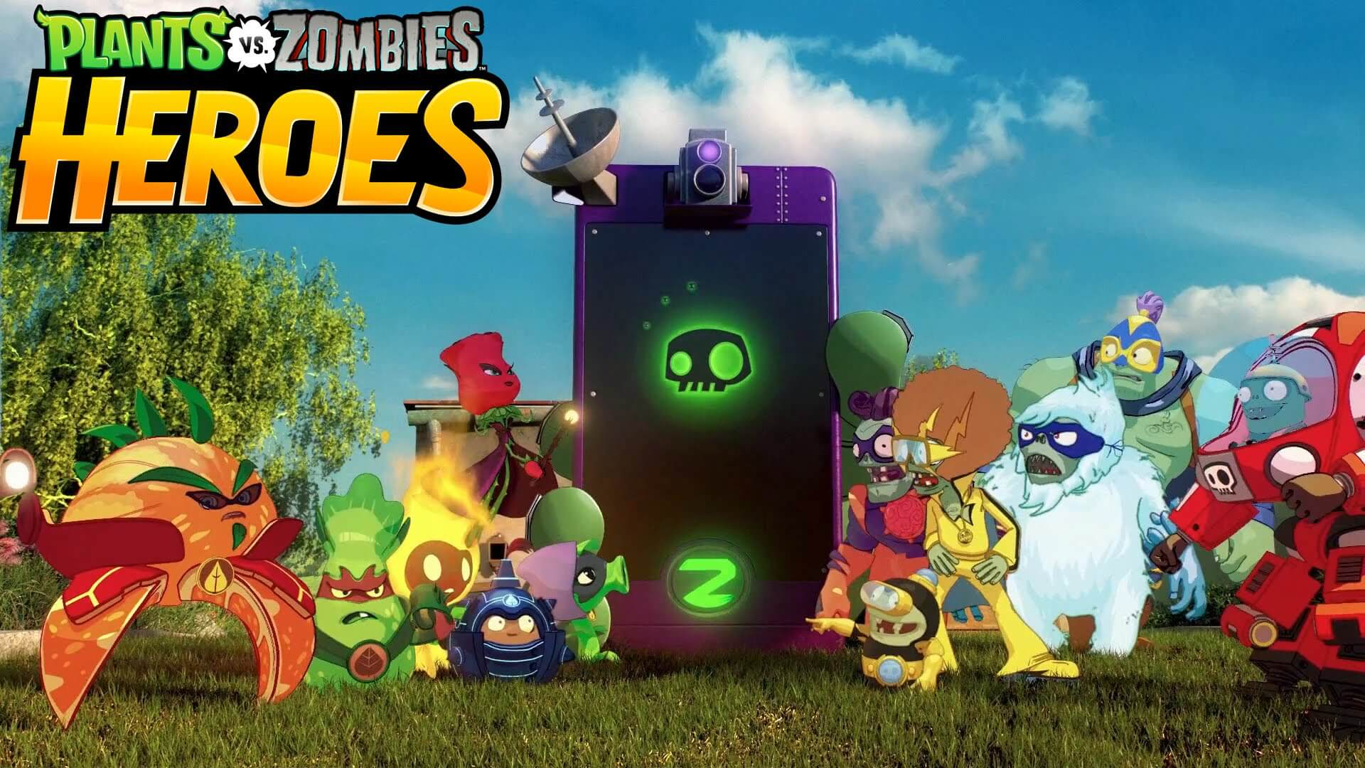 plants vs zombies heroes - Plants vs Zombies Heroes chegou para dispositivos iOS e Android