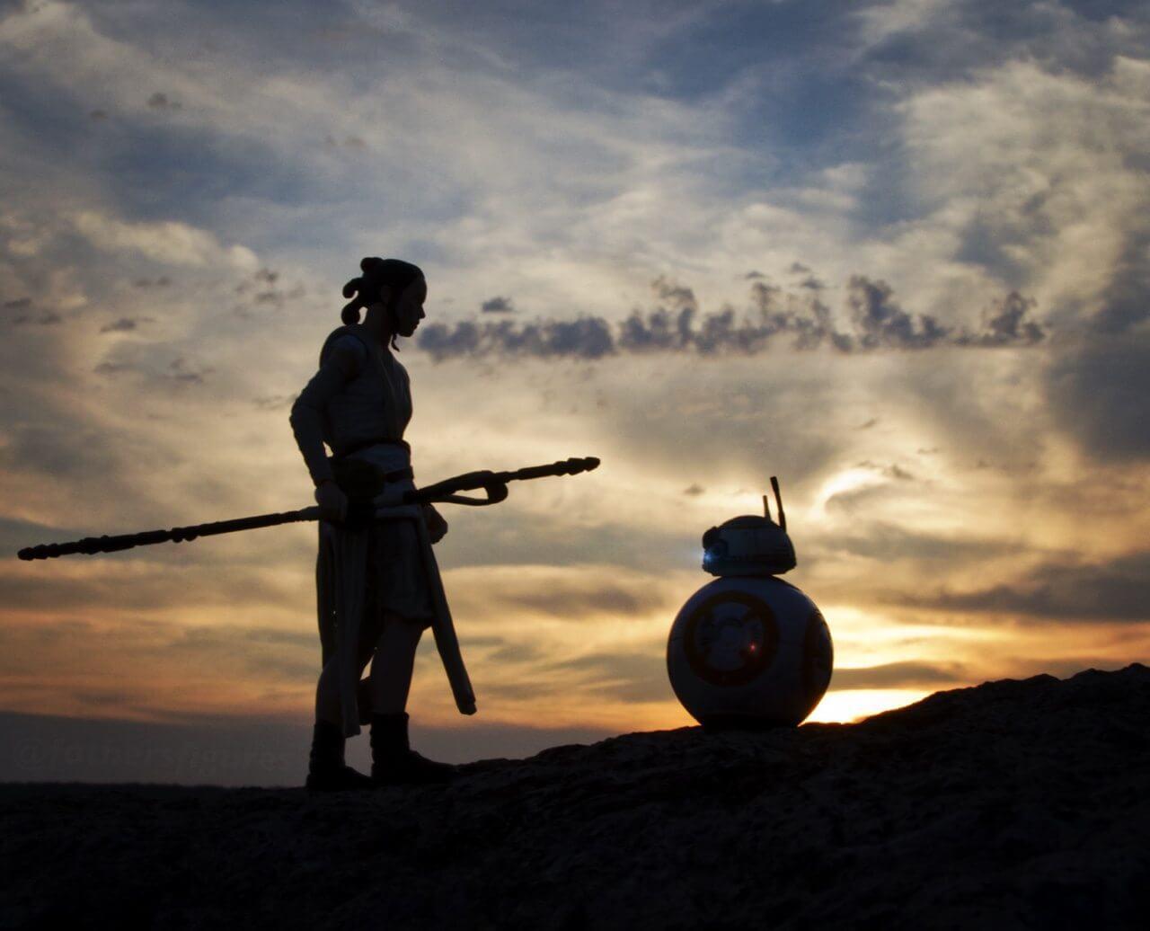 Rey e BB-8