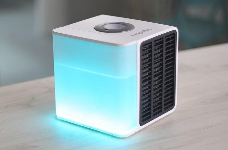 ar condicionado portatil funciona com agua e gasta menos energia - Ar condicionado portátil e econômico