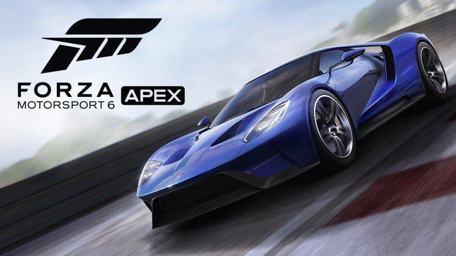 Forza Motorsport 6: Apex para Windows 10 será totalmente gratuito