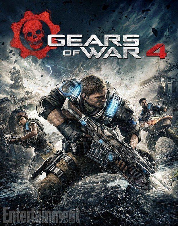 gears4capa - Incoming! Gears of War 4 será lançado dia 11 de outubro