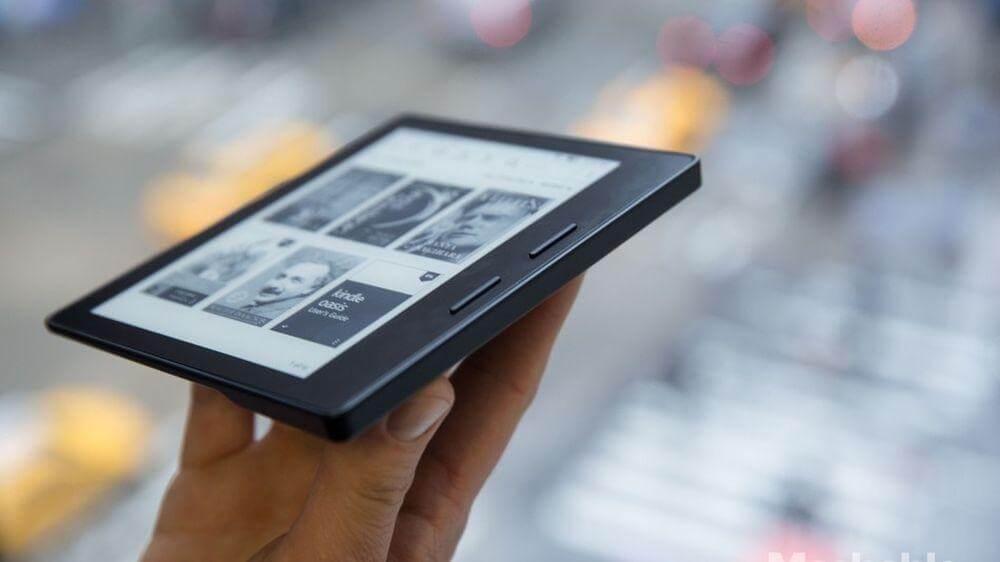 kindle oasis - Amazon lança o Kindle Oasis com novo design mais ergonômico