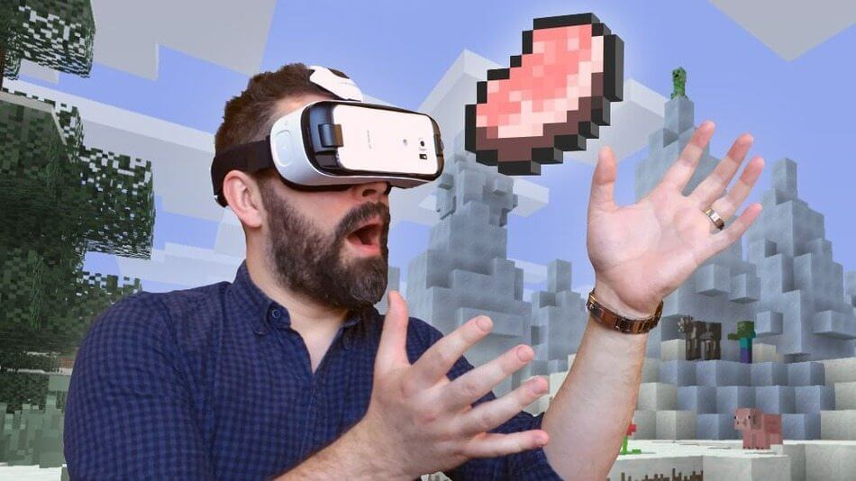 minecraft vr - Jogue Minecraft em Realidade Virtual agora mesmo