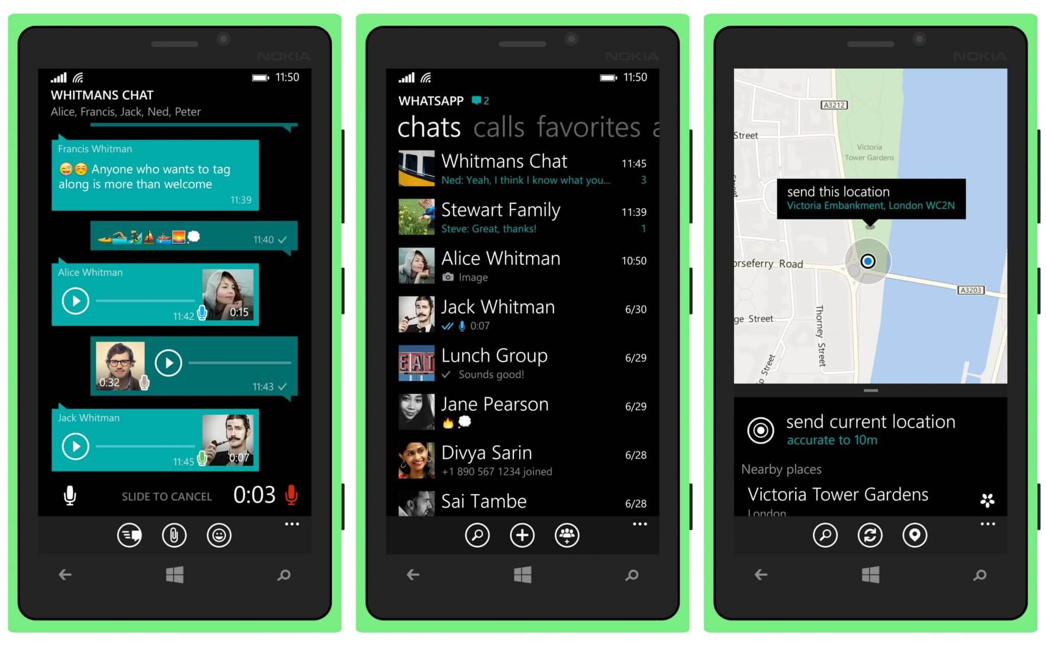 whatsapp windows phone - WhatsApp Beta para Windows 10 Mobile ganha suporte à formatação de textos