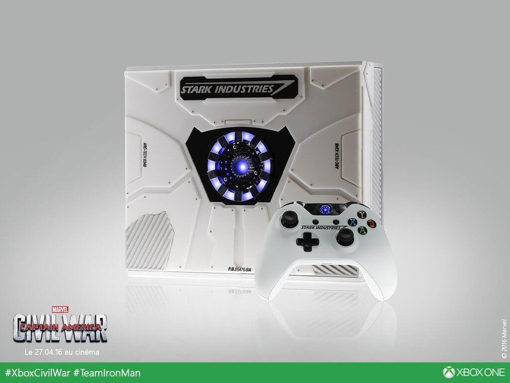 Xbox One Homem de Ferro #TeamIronMan 2