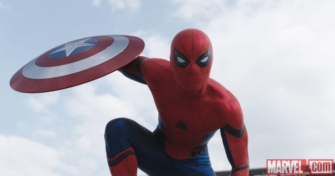 homem aranha marvel tom holland - Capitão América: Guerra Civil tem referência espetacular de Star Wars