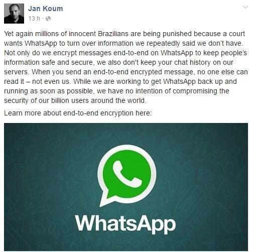 jam koum whatsapp liberado - Contagem regressiva: WhatsApp derruba bloqueio e volta ao ar