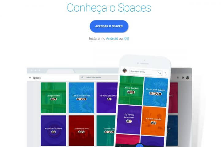 smt google spaces p3 720x480 - Google dá nova investida no universo das redes sociais com o Spaces