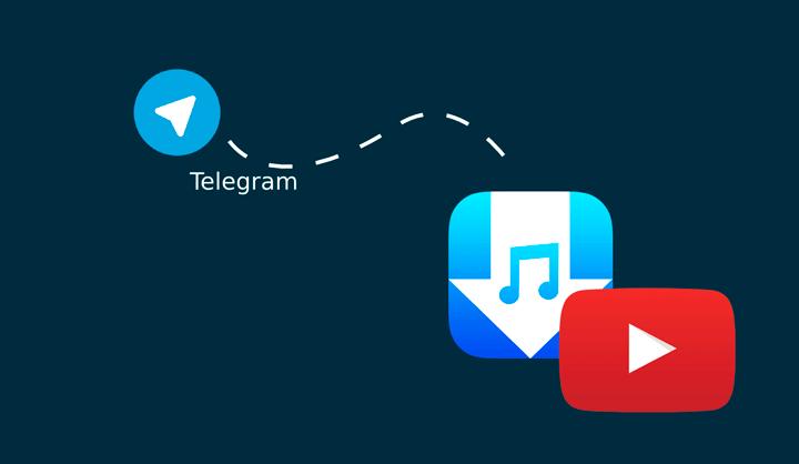 baixar vídeos YouTube Telegram