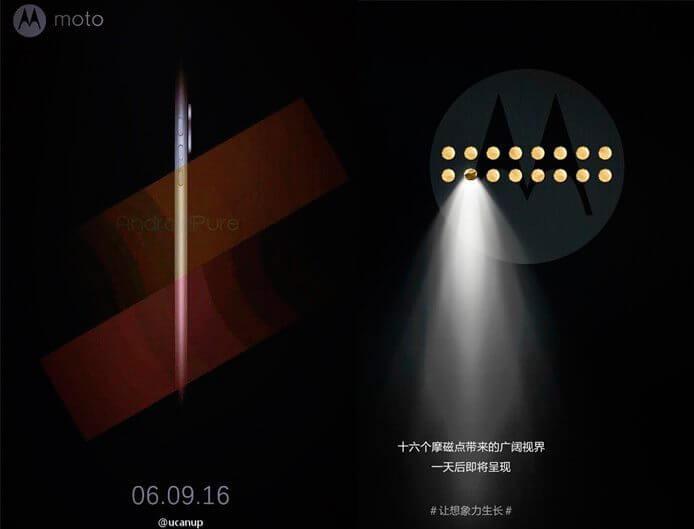 moto z mods cartaz weibo smt - Rumor: Moto Z terá uma versão Ouro Rosa