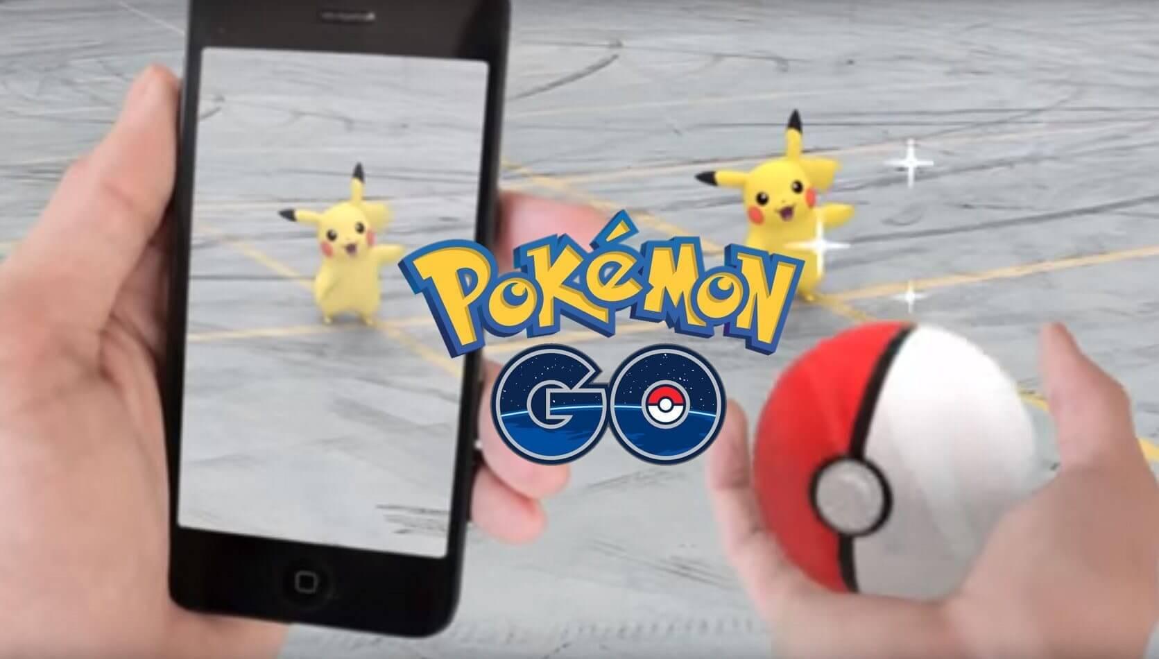 sadada - Pokémon Go chega em julho para iPhone e Android