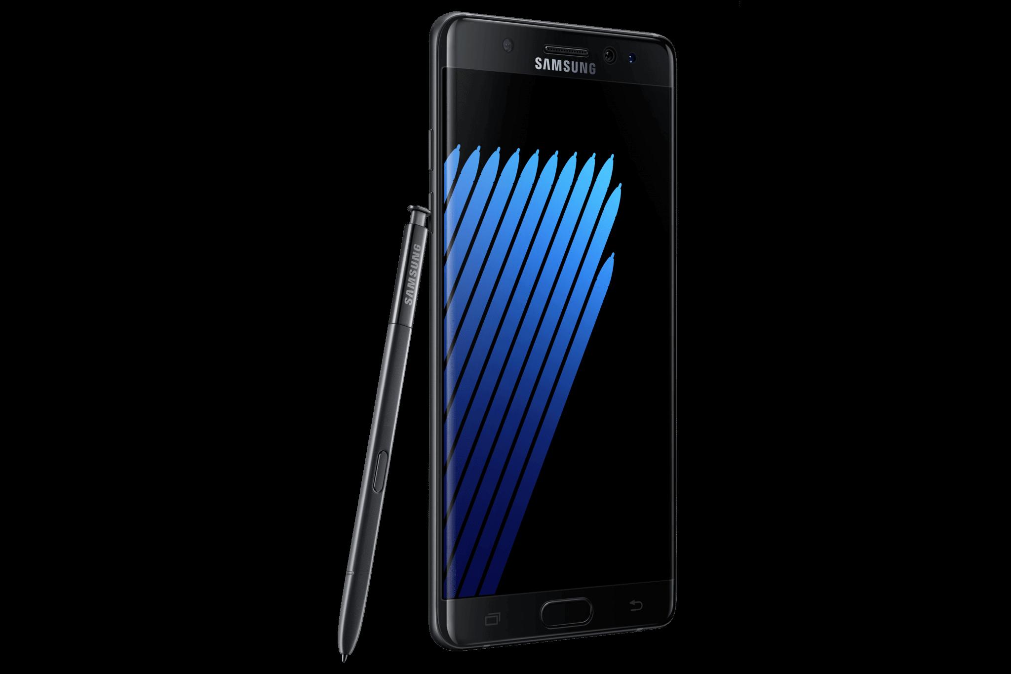 03 Galaxy Note7 black - Samsung promete Android Nougat para Galaxy Note7 em três meses