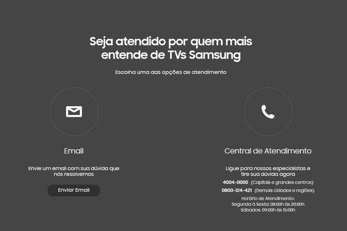 Samsung Care - Serviço