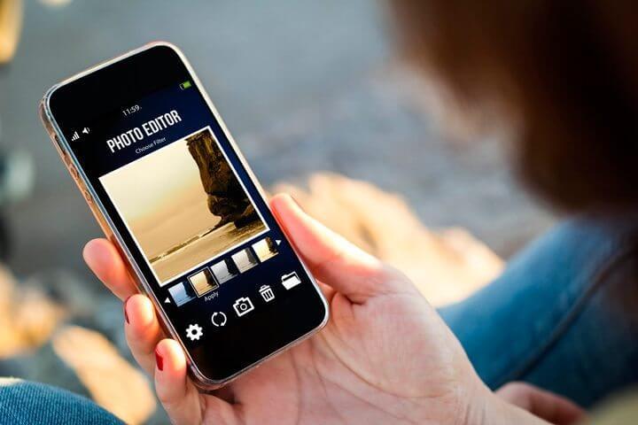 melhores aplicativos de edição de imagem para smartphones