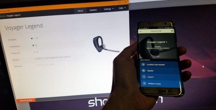 Plantronics Hub: versões para Windows, Macs, iOS e Android.