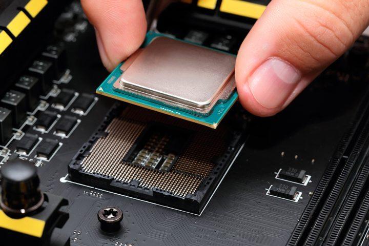 Mercado de PCs placa mãe processador