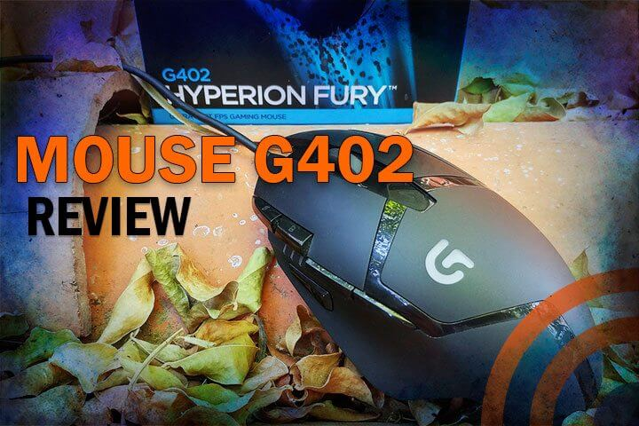 Review Mouse Logitech G402