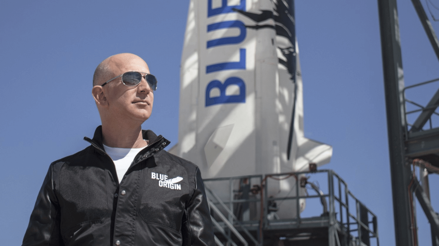Capturar 1 - Jeff Bezos, CEO da Amazon, quer conquistar o sistema solar