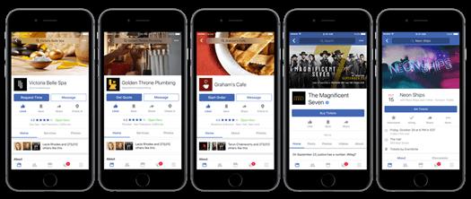 Recomendações - Facebook anuncia novidades para aproximar as pessoas dos negócios