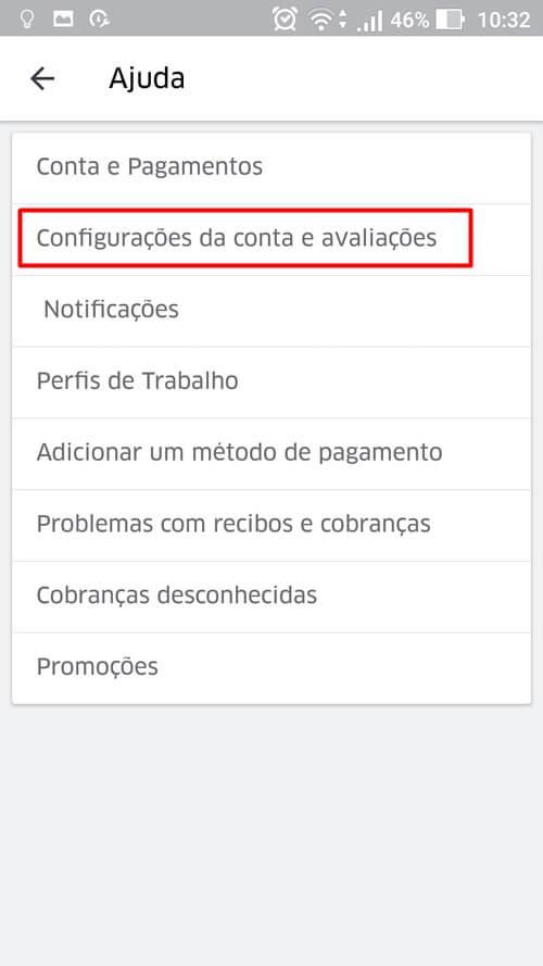 Screenshot 20161025 103300 - Tutorial: como descobrir a sua avaliação de passageiro no Uber