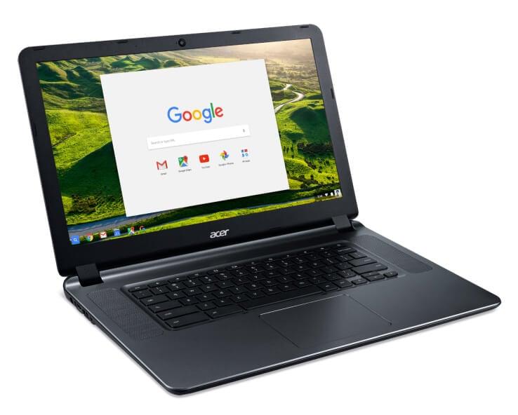 acer chromebook 15 - Acer lança novo Chromebook 15 com até 12 horas de autonomia