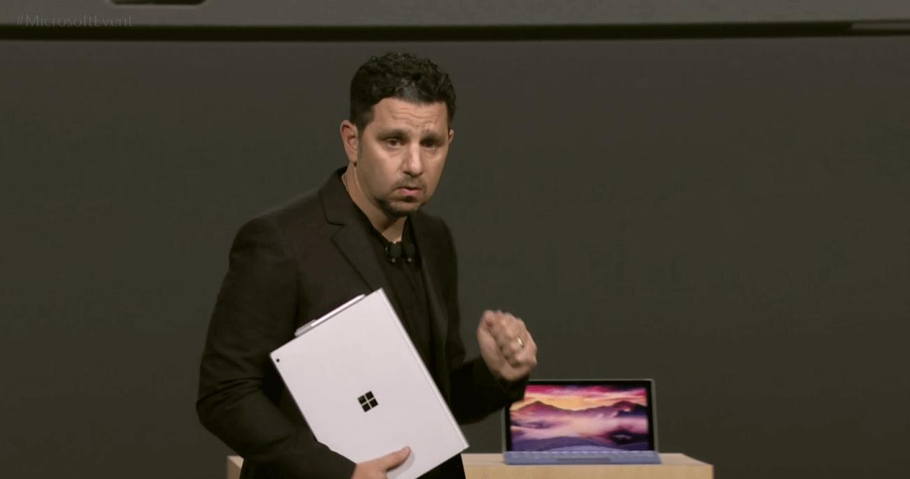 ms01 - Microsoft anuncia novo Surface Book, mais poderoso do que qualquer Macbook de 13 polegadas