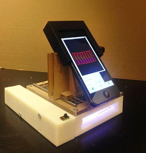 """portable cancer detector1 - Pesquisadores criam """"laboratório"""" com iPhone que identifica câncer"""