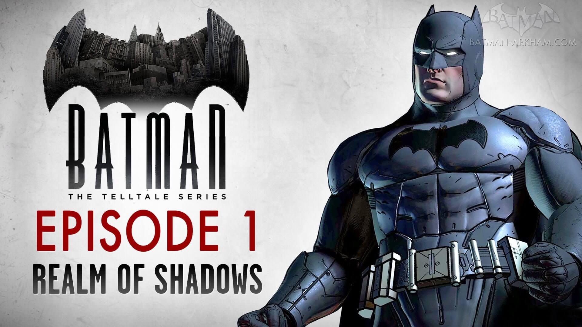 batman the telltale series - Batman: The Telltale Series está com o primeiro episódio grátis