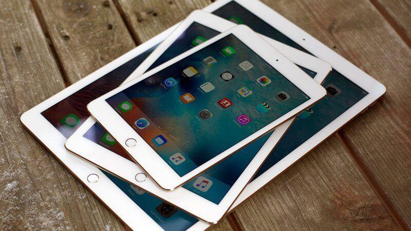 ipad mini ipad air ipad pro stack angle hero - Próximo iPad pode ser o primeiro a remover o Home Button