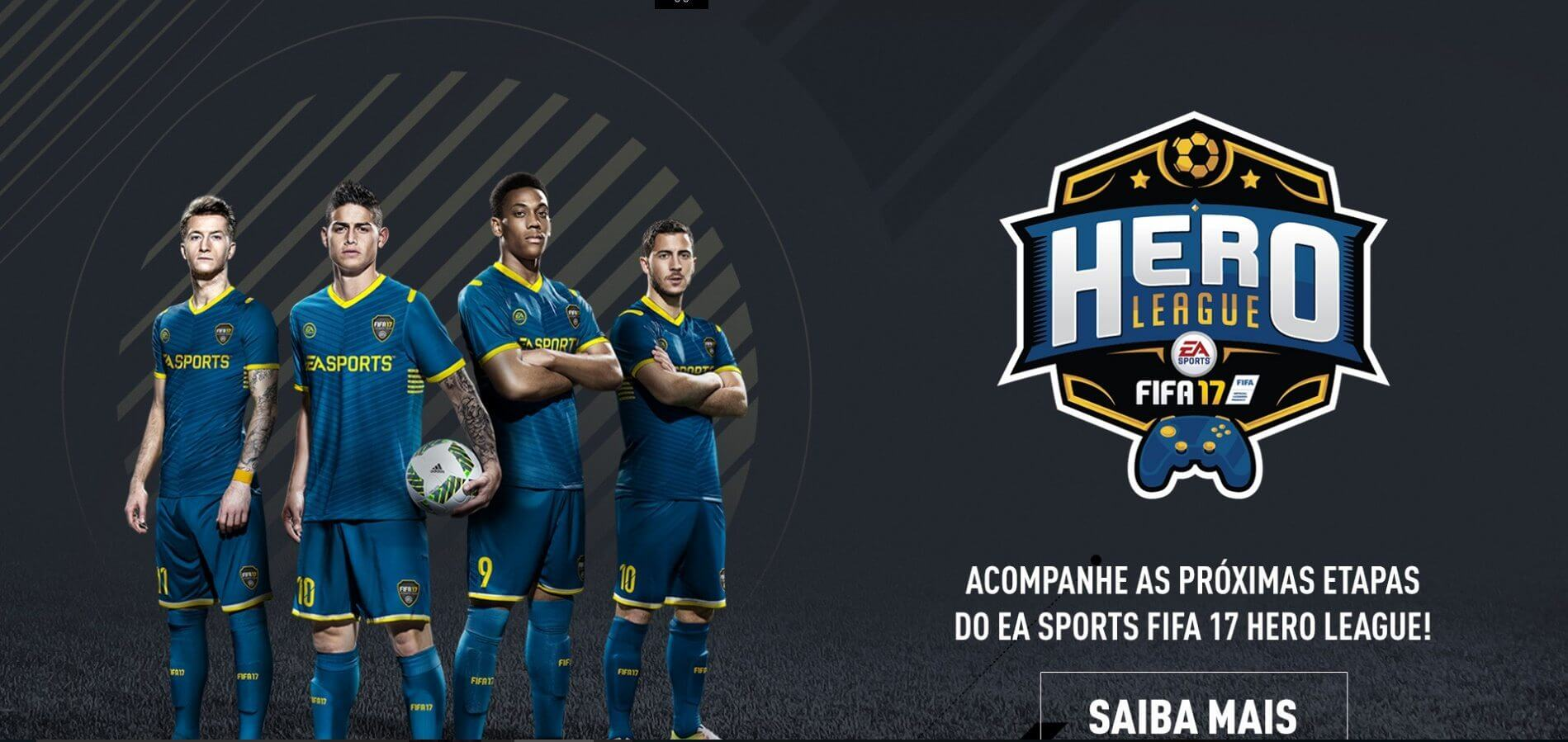 fifa hero - Programação de Sábado: Assista à Final do EA Sports Fifa 17 Hero League