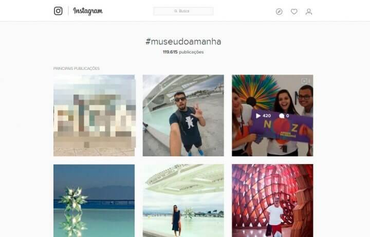 "Museu do amanhã, o local mais ""Instagrammado"" no ano de 2016"