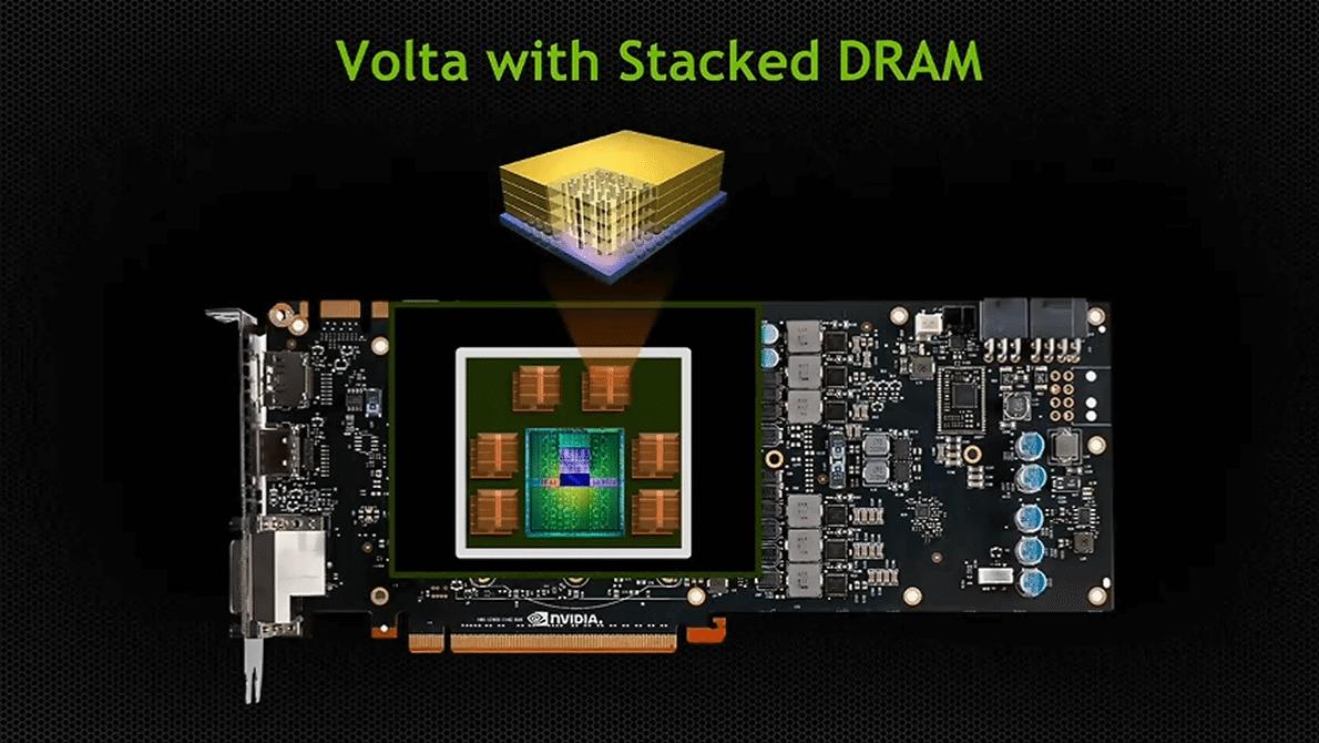 [rumor] nvidia geforce gtx 3080 usará arquitetura volta e até 16 gb de memória gddr6/hbm2. Serão 3 chips volta: gv104, gv102 e gv110. O gv104 dará origem à geforce gtx 3070 e geforce gtx 3080, estas com até 16 gb de memória.